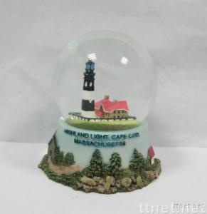 Resin Water globe and snow globe
