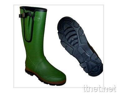 Two-tone Rubber Wellington Boot
