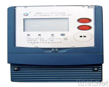 Three Phase Four (Three) Wire Multi-function Electronic Meter