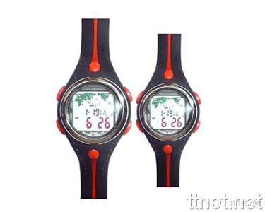 World Time Pair Watch