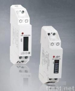 Single-phase 2 wire Digital DIN Mounted Meter