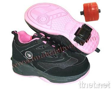 Children's Retractable Roller Shoes