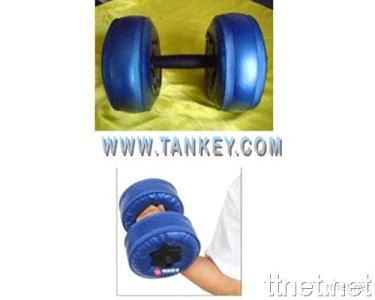 Water-poured Dumbbell
