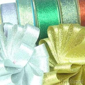 Gold & Silver Wired Ribbons
