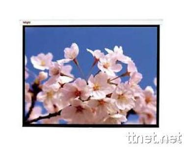 Manual Projection Screen