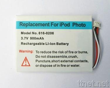 iPod Photo Replacement Battery