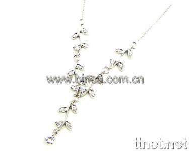 Sterling Silver Jewelry--Silver Necklace