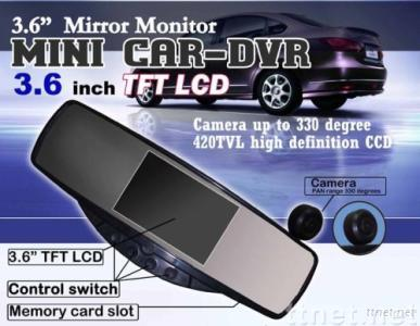 car video recorder + wireless rear view camera system