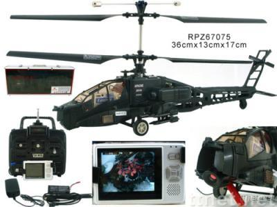 RC helicopter with camera
