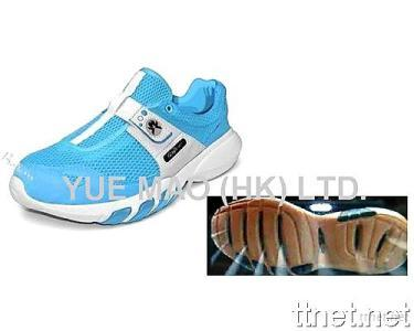 Sneaker with Ventilation Sole