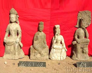 Carve Stone Carving Buddha/Antique Sculpture