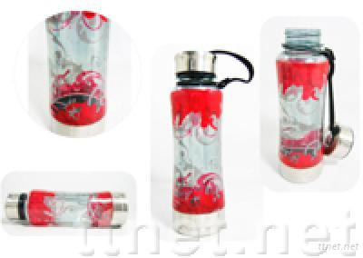 Sport Water Bottle with color print