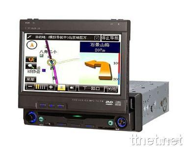 Touch Screen One Din in Dash Car DVD GPS Player