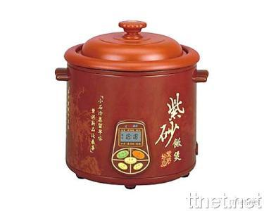Multifunctional Purple Clay Electric Cooker