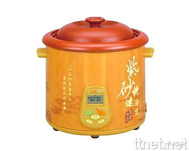 Purple Clay Electric Soup Cooker
