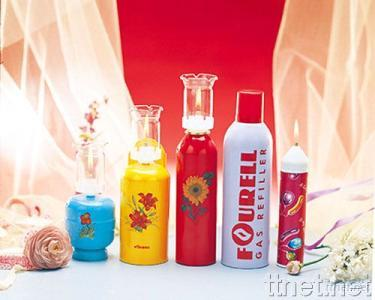 Range of Refillable Butane Candles