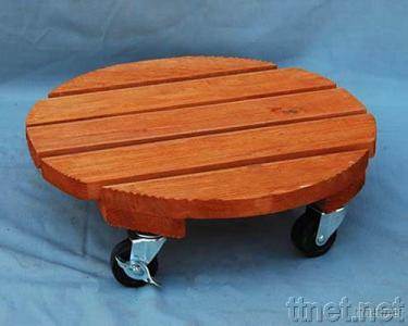 Sell Round Wooden Plant Dolly