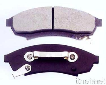 Display of Part of Brake Pads for Car
