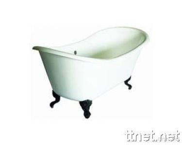 Double Skin Acrylic Classical Bathtub