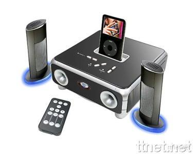 iPod Speaker with Full Function Remote Control