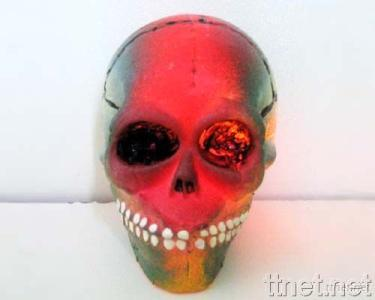 Flashing Squeeze Skull