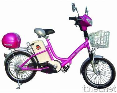 Electric Bicycle with Different Colors and Styles