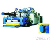 PE, PVC Twin-wall Corrugated Pipe Production Line (50 - 500 mm)
