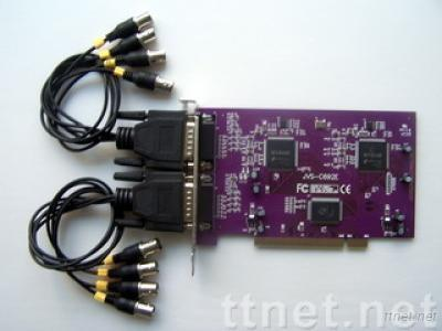 8 channel H.264 real-time PCI DVR card