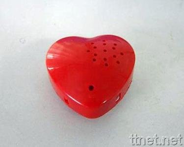 Heart Shape Voice Recorder (Suitable for Stuffed Toys)