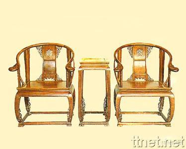 Classical Chinese Furniture-Chair with Tea Table