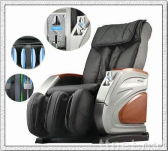 Vending massage chair with inner coin box