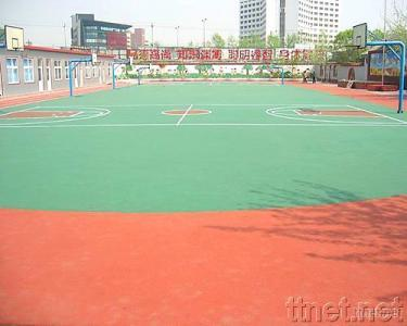 EPDM Rubber Granule used for Basketball Ground