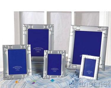 Metal Silver Plated Photo Frame