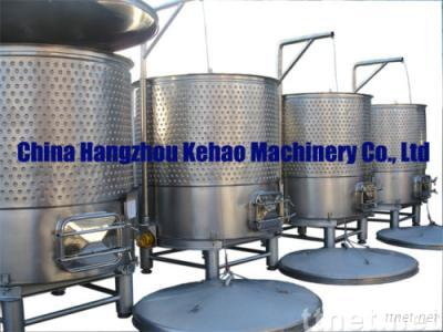 Variable Capacity Stainless Steel Winery Tanks