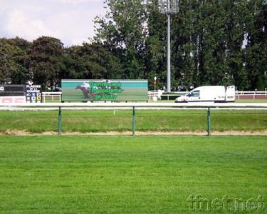 Outdoor LED Display for Horse Race