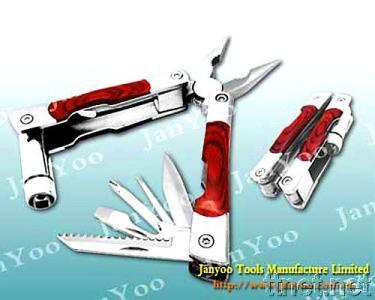 Multi Plier with Color Wood Handle