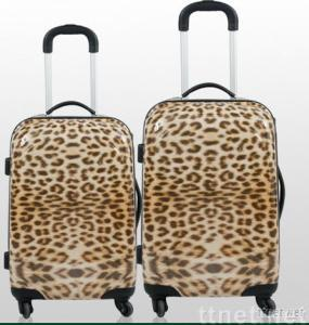ABS leapard luggage