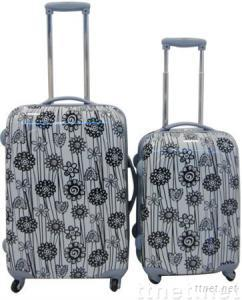 ABS sunflower luggage