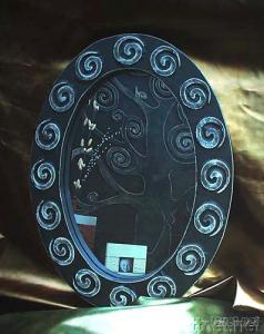 Mirror Leather-made Relievo
