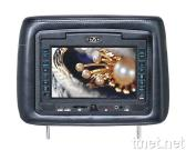 7-Inch Headrest Monitor with DVD Player and Pillow