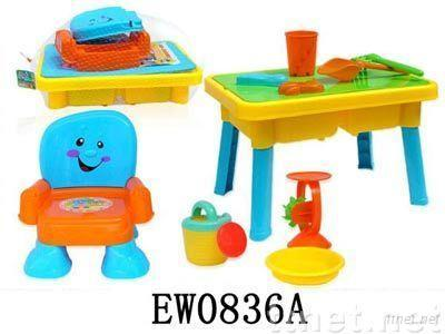 Beach Furniture and Toys Set