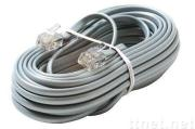Supply HBVB PP insulated, PVC sheath oblate telephone cables