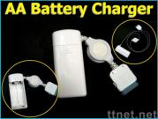 AA Battery Charger for iPod and iPhone (SN-CCAA001W)