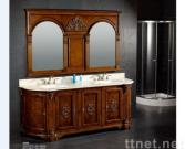 Double basin Bathroom Cabinet