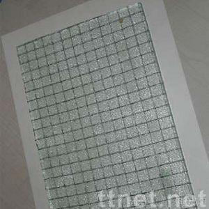 wired fire resistant glass
