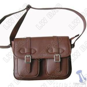 briefcase, leather briefcase, business bag
