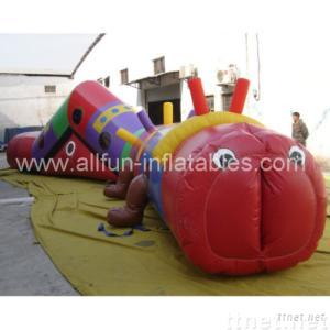 inflatable tunnel/track/obstacle/inflatable game/toy
