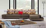 upholstery sectional corner sofa, modern fabric leisure sofa, home furniture