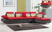 modern sectional fabric corner sofa, home leisure furniture
