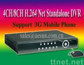 H.264 4ch/8ch CCTV Standalone Network Security  DVR